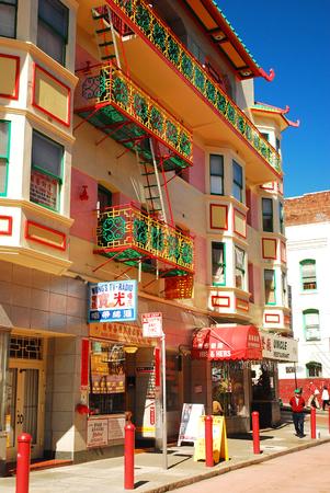 brighten: The Painted Balconies Brighten San Franciscos Chinatown