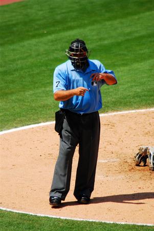 umpiring: Baseball Umpire