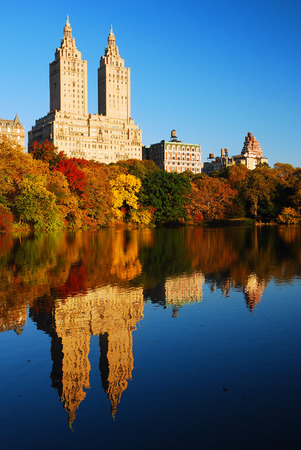central park: Central park Autumn Reflections