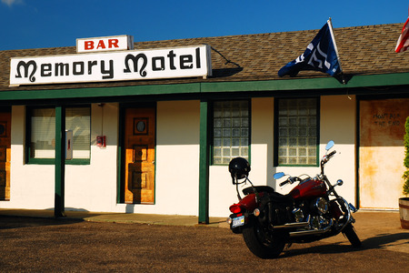 montauk: Memory Motel, Montauk, Made Famous by a Rolling Stones Song Editorial