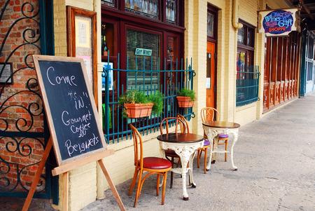 A Cafe in Pensacolas Historic Seville District