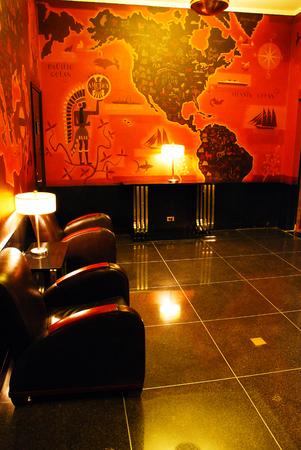 lounge: Mens Lounge, Radio City Music Hall, New York