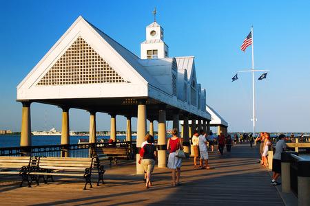 in charleston: Vendue Pier, Charleston