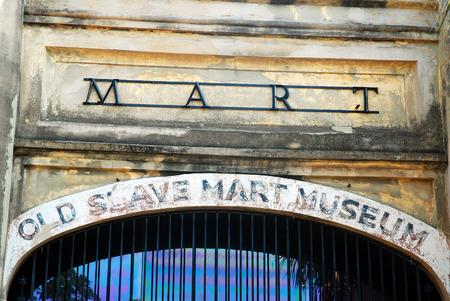 Autrefois Slave Market, le Musée du Vieux Marché aux esclaves à Charleston, Caroline du Sud, documente la cruauté de l'Institution Banque d'images - 60517132