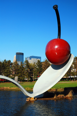 Spoonbridge by Claes Oldenburg, Minneapolis