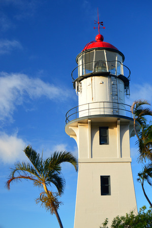 diamond head: Diamond Head Lighthouse on Oahu