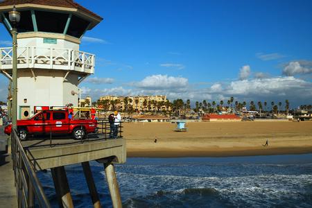 huntington beach: Lifeguard Tower, Huntington Beach