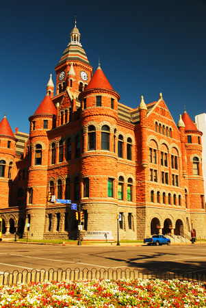 Old Red Courthouse, now the Dallas Historical Museum Editorial