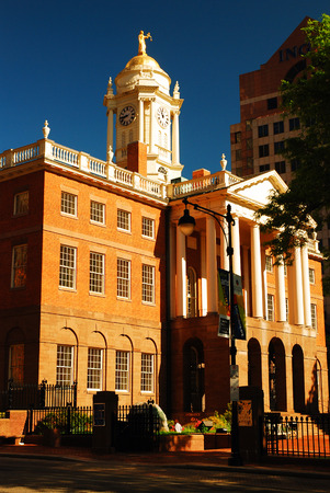 Hartford Old State House Stock Photo