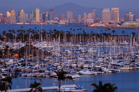 southern: San Diego Harbor and City