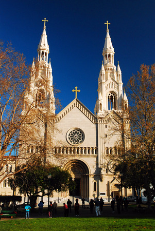 pious: Sts Peter and Paul Cathedral, San Francisco