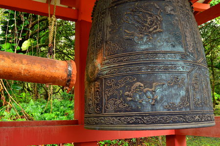pix: Peace Bell at the Byodo in Temple