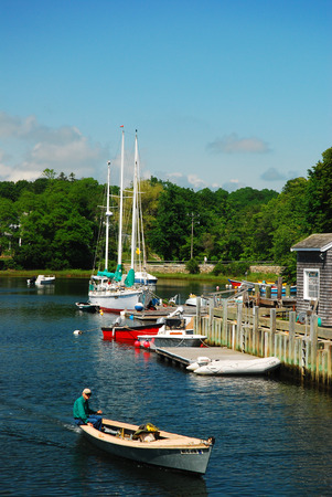 dinghies: Harbor, Cape Cod Editorial