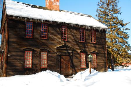 dwell house: Allen House, Deerfield, MA