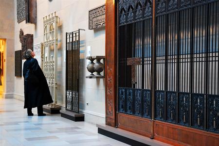 architectural studies: Historic Elevator Doors, Chicago Institute of Art