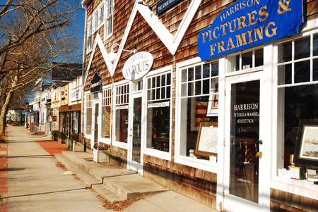 end of a long day: East Hampton Business District Editorial