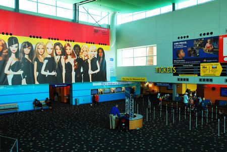 indianapolis: Indianapolis Childrens Museum lobby