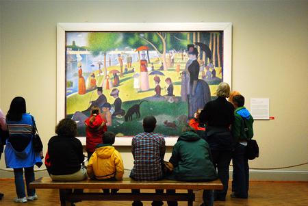 Seurat at the Chicago Art Institute