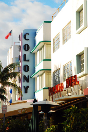The Colony and Boulevard Hotels In Miamis Art Deco South Beach