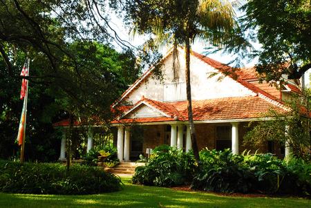 house gables: Merrick House, Coral Gables