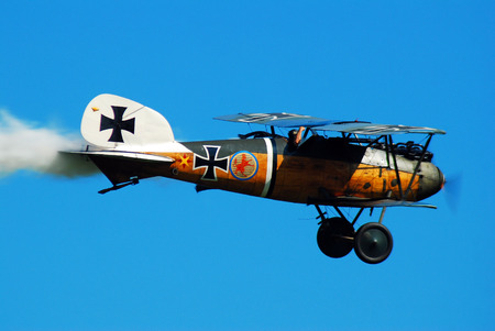 A Gernam Albatros D Va Rules the Sky on this Day