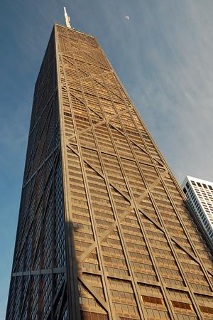 hancock: Looking Up at the John Hancock Tower, Chicago