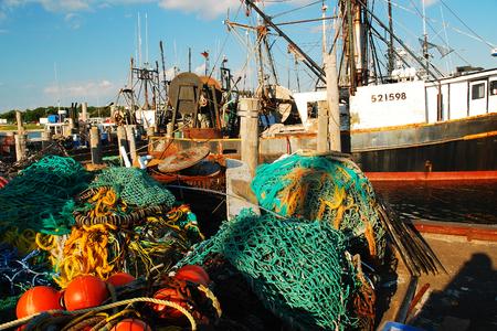 Montauk Commercial Fishing Harbor
