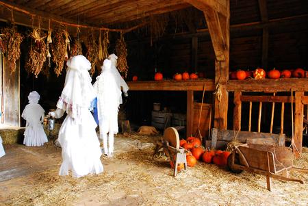 Halloween Ghost Dance, Sleepy Hollow Stock Photo