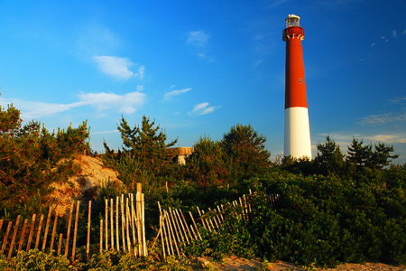 navigational light: Barnegat Light