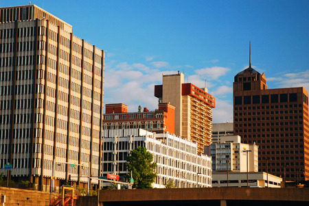 tennessee: Skyline of Memphis Tennessee