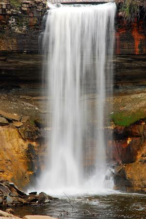 Minehaha Falls in Minneapolis Minnesota