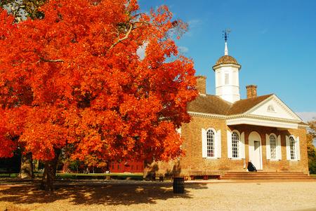 ウィリアムズバーグで秋
