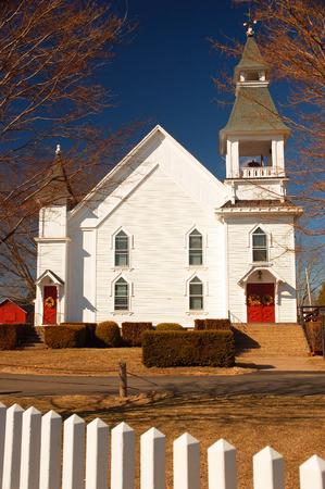 Hebron First Congregational Church 版權商用圖片