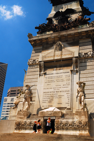 Soldiers and Sailors Monument, Indianapolis