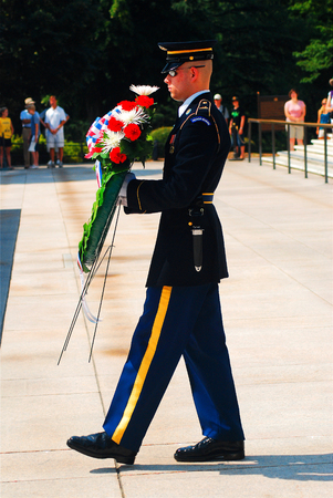 honouring: Laying a Wreath