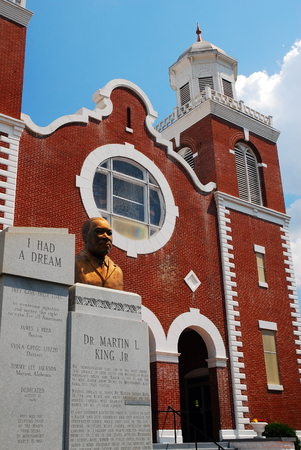 Martin Luther King, Brown AME Church, Selma Alabama