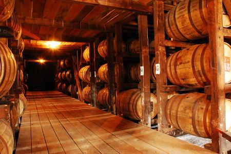Bourbon, Aging in Barrels Editorial