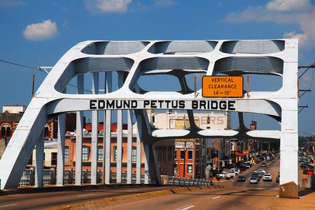 marchers: Edmund Pettus Bridge, Civil Rights Landmark, Selma, Alabama