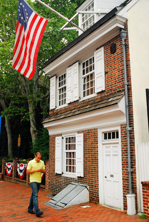 northeastern: The Betsy Ross House, Philadelphia Editorial