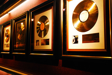 Gold Records of Elvis Presely, Graceland