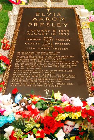 mementos: Grave of Elvis Presley, Graceland, Memphis, TN