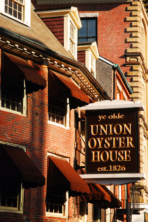 ye: The Facade of the Ye Olde Oyster House in Boston