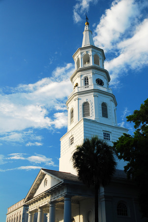 St Michaels Episcopal Church, Charleston Stock Photo
