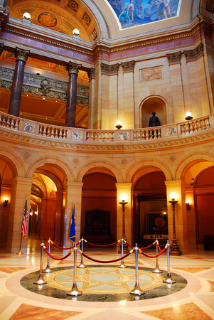 governing: The Rotunda of the Minnesota State Capitol, St Paul Editorial