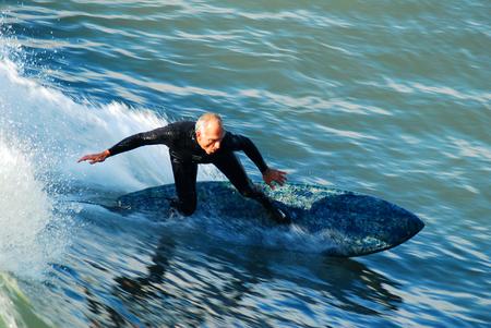 Senior Surfing