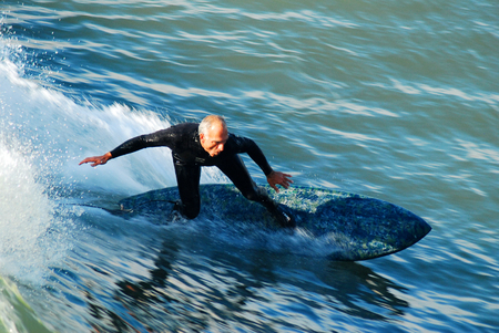 Senior Surfing