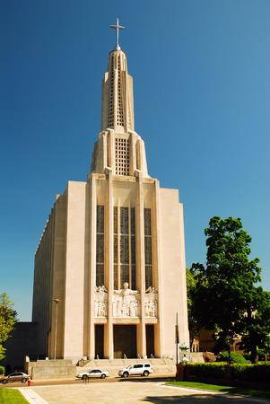 Hartford Cathedral of Saint Josephs Stock Photo