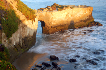 A Swirling Sea at Natural Bridges State Park, Santa Cruz