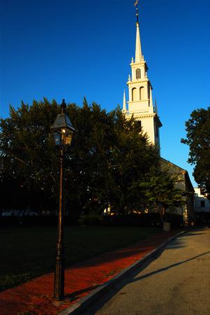 sacred trinity: Trinity Church, Newport