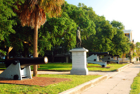 White Point Gardens, Charleston